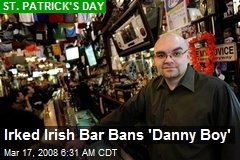 Irked Irish Bar Bans 'Danny Boy'