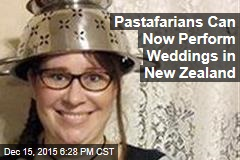 Pastafarians Can Now Perform Weddings in New Zealand