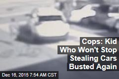 Boy Car Thief's Arrests Trump His Age: Cops
