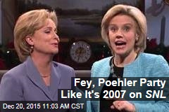 Fey, Poehler Party Like It's 2007 on SNL