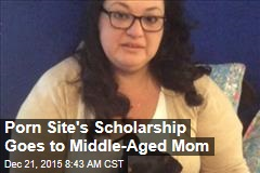 Porn Site's Scholarship Goes to Middle-Aged Mom