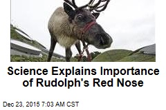 Science Explains Importance of Rudolph's Red Nose