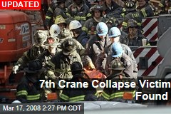 7th Crane Collapse Victim Found