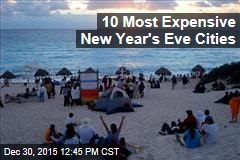 10 Most Expensive New Year's Eve Cities