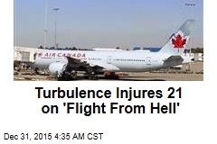 Turbulence Injures 21 on 'Flight From Hell'