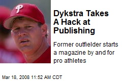 Dykstra Takes A Hack at Publishing