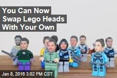 You Can Now Swap Lego Heads With Your Own