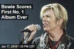 Bowie Scores First No. 1 Album Ever