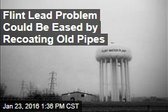Flint Lead Problem Could Be Eased by Recoating Old Pipes