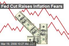 Fed Cut Raises Inflation Fears