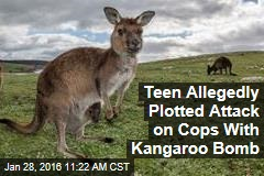 Teen Allegedly Plotted Attack on Cops With Kangaroo Bomb