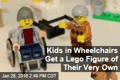 Kids in Wheelchairs Get a Lego Figure of Their Very Own