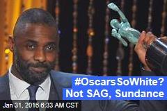 #OscarsSoWhite? Not SAG, Sundance