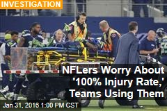 NFLers Worry About '100% Injury Rate,' Teams Using Them