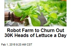 Japan's Farm of Future Will Be Run by Robots