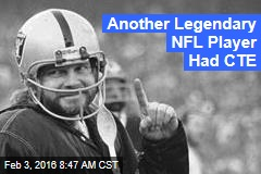 Another Legendary NFL Player Had CTE