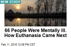66 People Were Mentally Ill. How Euthanasia Came Next