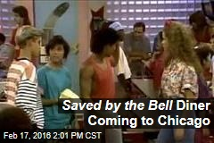 Saved by the Bell Diner Coming to Chicago
