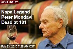 Napa Legend Peter Mondavi Dead at 101