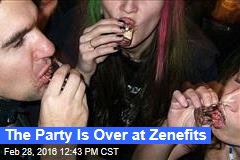 The Party Is Over at Zenefits