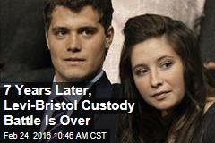7 Years Later, Levi-Bristol Custody Battle Is Over