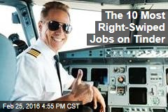 The 10 Most Right-Swiped Jobs on Tinder