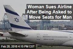 Woman Sues Airline After Being Asked to Move Seats for Man