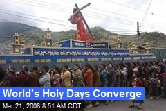 World's Holy Days Converge