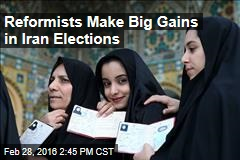Reformists to Win All Seats in Iran's Capital