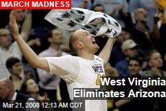 West Virginia Eliminates Arizona