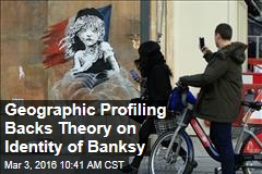 Geographic Profiling Backs Theory on Identity of Banksy