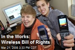 In the Works: Wireless Bill of Rights