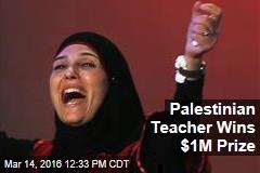 Palestinian Teacher Wins $1M Prize