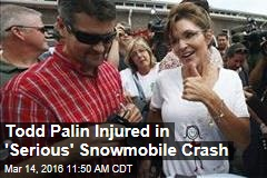 Todd Palin Seriously Hurt in Snowmobile Crash