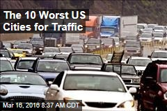 The 10 Worst US Cities for Traffic