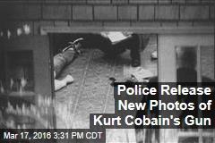 Police Release New Photos of Kurt Cobain's Gun