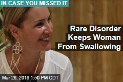 Woman Wakes Up One Day, Can't Swallow