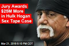 Jury Awards $25M More in Hulk Hogan Sex Tape Case
