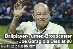 Ballplayer-Turned-Broadcaster Joe Garagiola Dies at 90