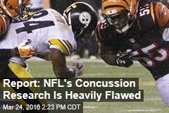 Report: NFL's Concussion Research Is Heavily Flawed