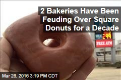 2 Bakeries Have Been Feuding Over Square Donuts for a Decade