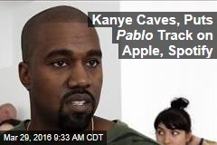 Kanye Caves, Puts Pablo Track on Apple, Spotify
