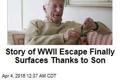 After 71 Years, Vet Gets Medal for WWII Escape