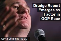 Drudge Report Emerges as Factor in GOP Race