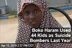 Boko Haram Used 44 Kids as Suicide Bombers Last Year