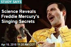 Science Reveals Freddie Mercury's Singing Secrets