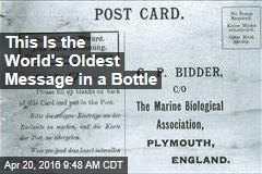 This Is the World's Oldest Message in a Bottle