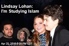 Lindsay Lohan: I'm Studying Islam