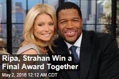 Ripa, Strahan, Share Daytime Emmy