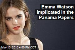 Emma Watson Implicated in the Panama Papers